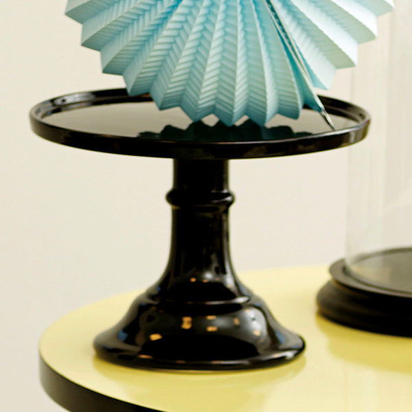 Large Black Cake Stand
