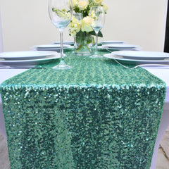 Mint Sequin Table Runner - The Sweet Hostess  - 3