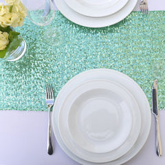 Mint Sequin Table Runner - The Sweet Hostess  - 2