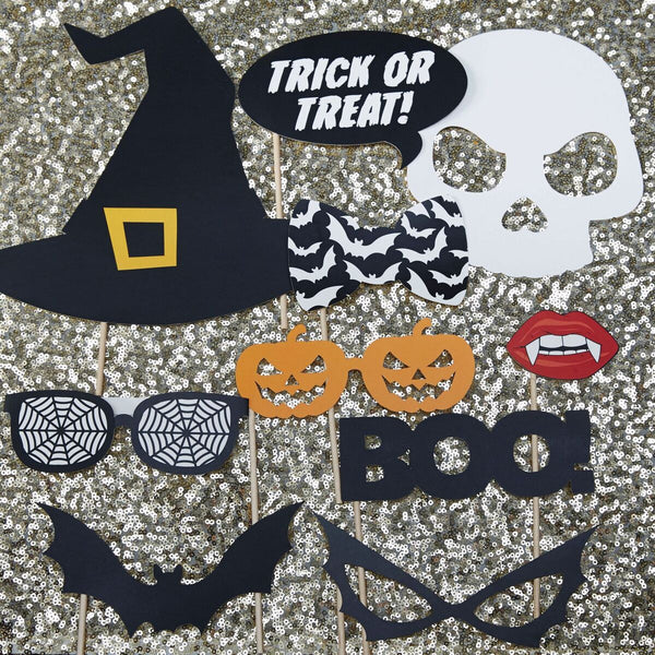 Halloween Photo Booth Props - Trick Or Treat