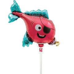 Pirate Fish Air-Filled Balloon - The Sweet Hostess