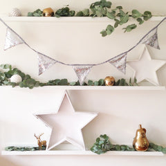 Silver Sequin Bunting - The Sweet Hostess  - 2