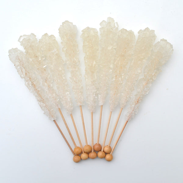 Natural Sugar Swizzle Sticks 10 Pack