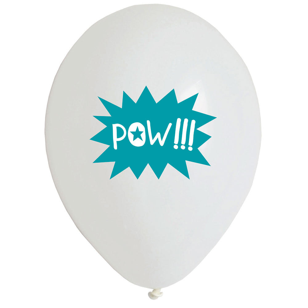 Superhero Balloons - The Sweet Hostess