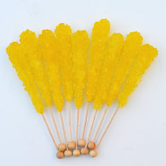 Banana Sugar Swizzle Sticks 10 Pack - The Sweet Hostess
