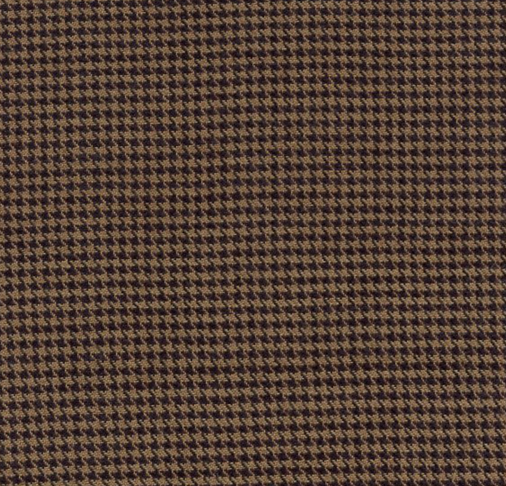 Navy and Taupe Houndstooth