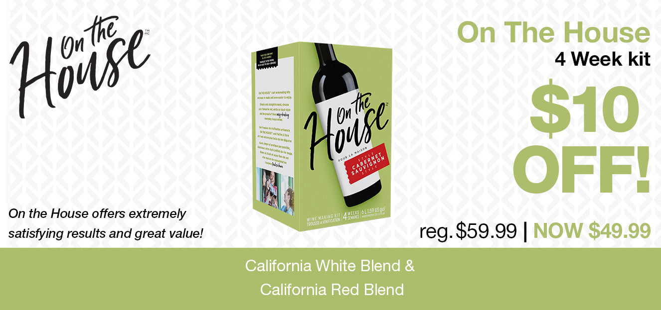 California Wine Month - On The House