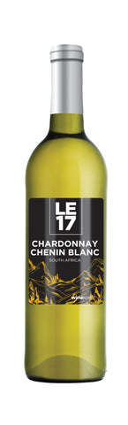 Photo of a bottle of Chardonnay Chenin Blanc wine