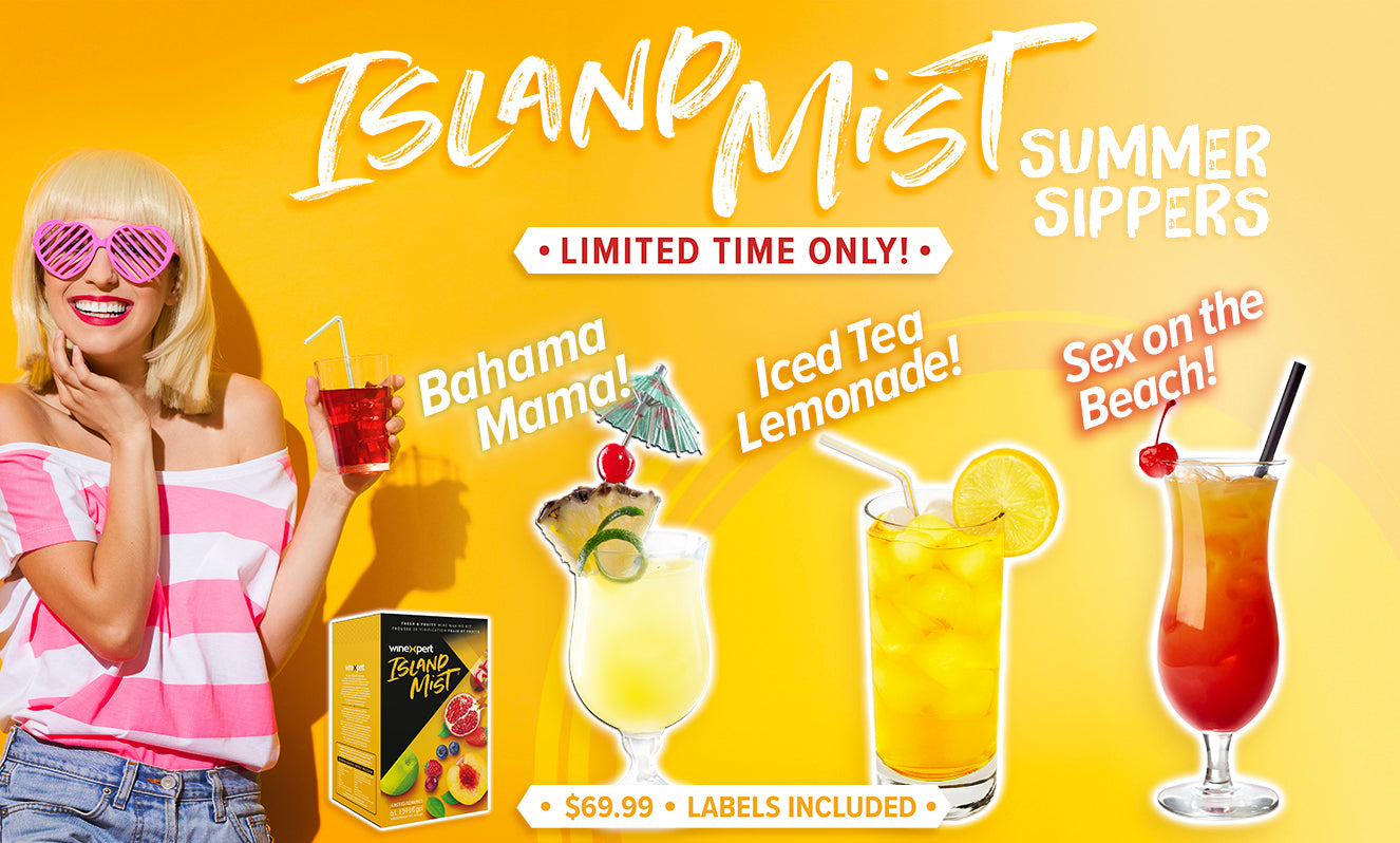 Island Mist Summer Sippers Limited Releases