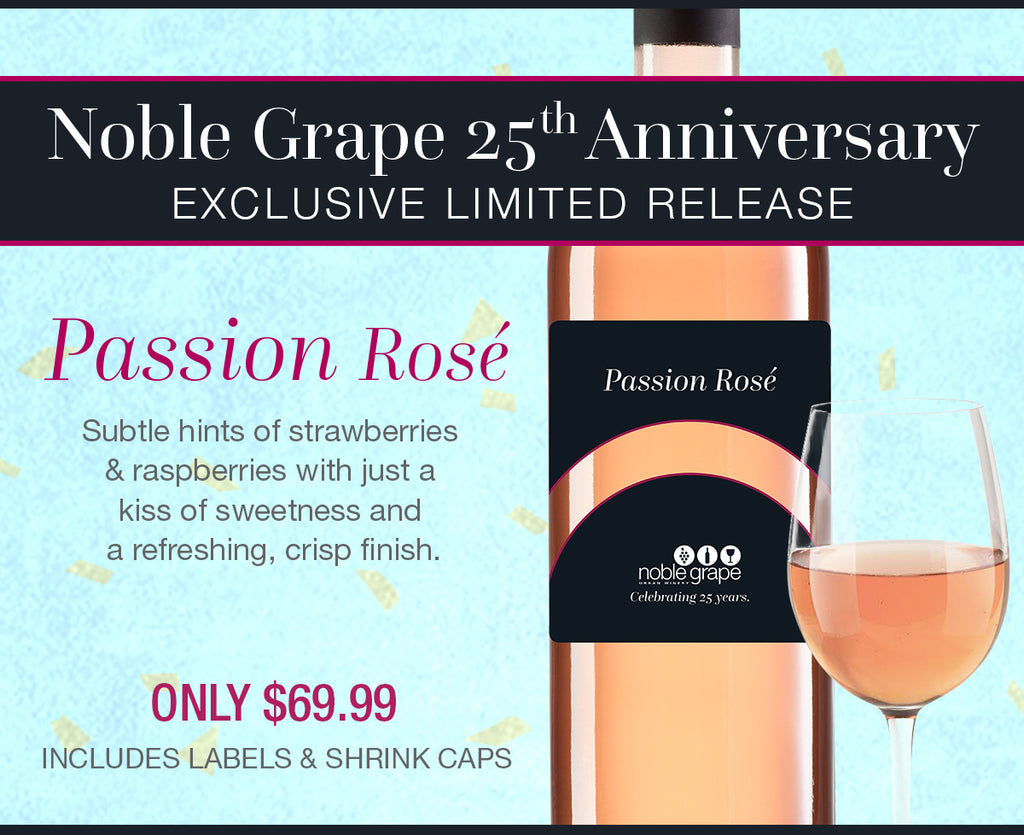 Noble Grape 25th Anniversary Exclusive Limited Release