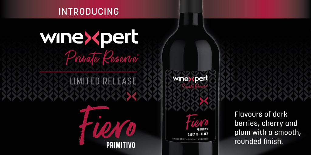 Winexpert Fire Primitivo Limited Release