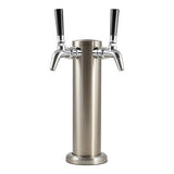 Intertap Stainless Steel Tower with Chrome Taps