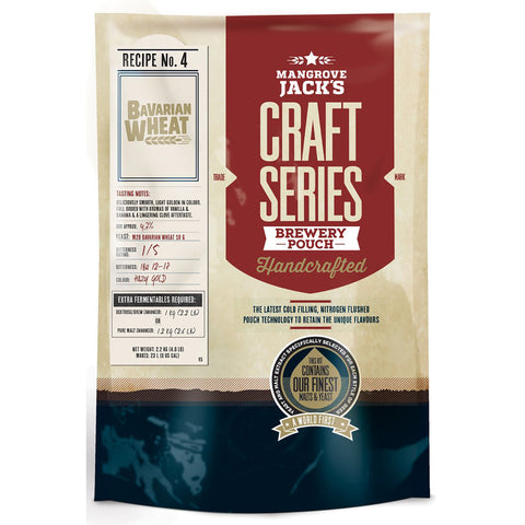 MJ Cold Filled Brewery Pouch Bavarian Wheat
