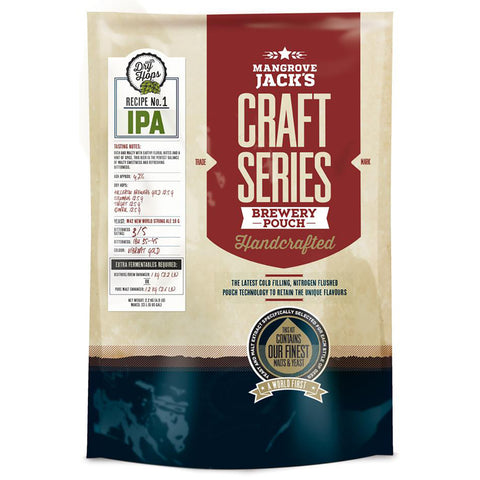 Mangrove Jack's Craft Series Brewery Pouch - IPA + Dry Hops