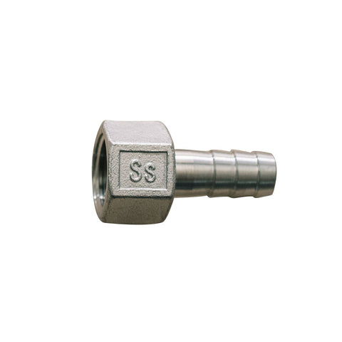 "Ss Brewtech 1/2"" Barb to 1/2"" FPT (female)"