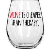 Wine Glasses - Wine Time, Set of 4