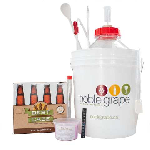 Beer Starter Kit with Best Case Beer Kit - Noble Grape