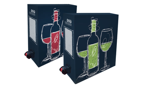 Cardboard Wine Dispenser Box