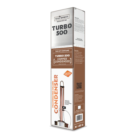 Turbo 500 Copper Re-flux Column ONLY