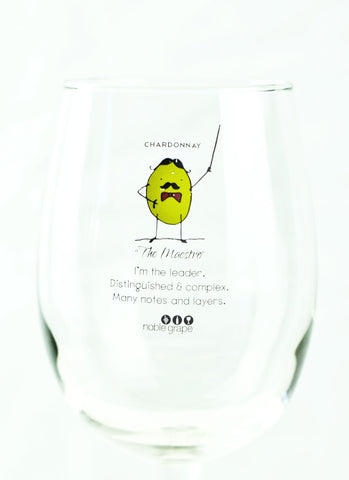 Wine Glass Personality - The Maestro