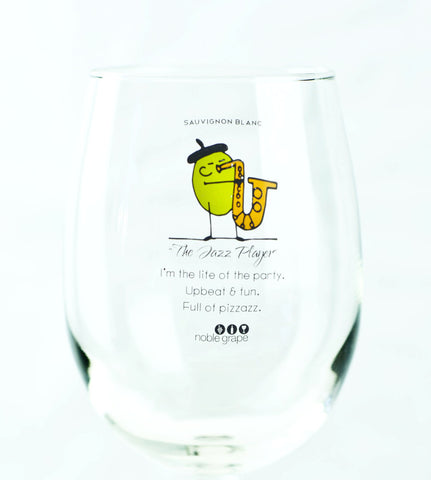Wine Glass Personality - The Jazz Player
