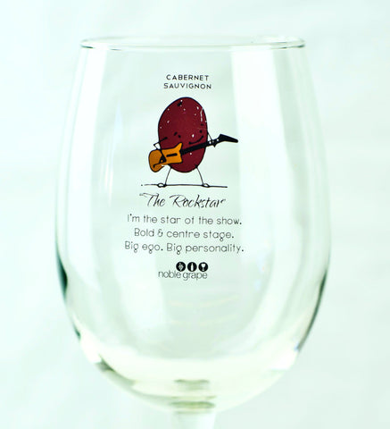 Wine Glass Personality - The Rock Star