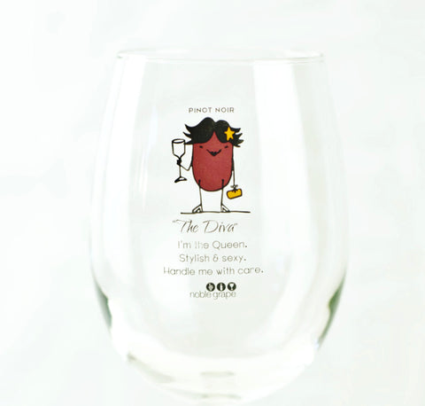 Wine Glass Personality - The Diva