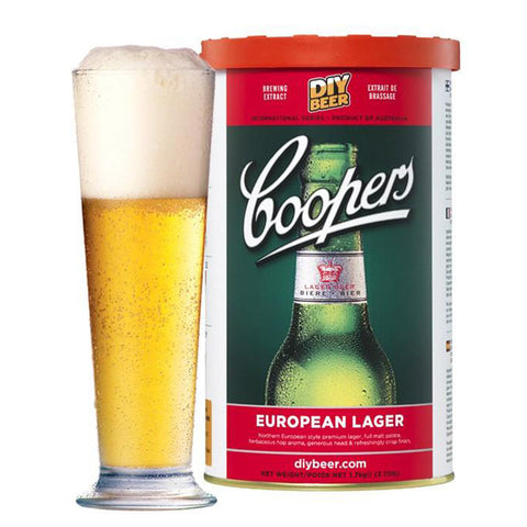 Coopers European Lager - Noble Grape