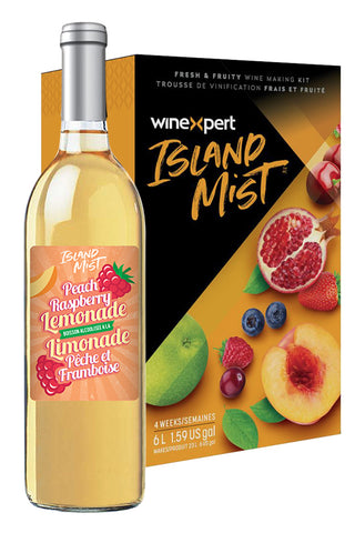 Island Mist Peach Raspberry Lemonade Kit (Limited Release)
