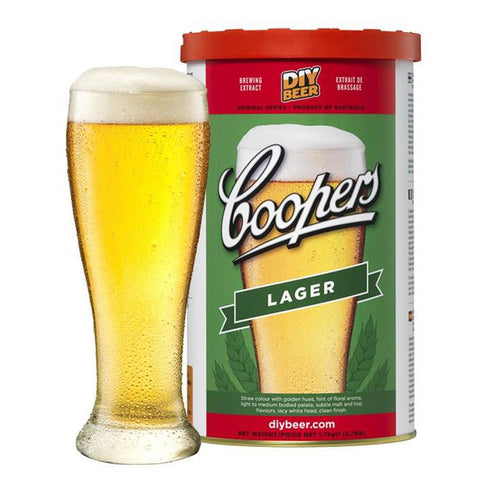 Coopers Lager - Noble Grape