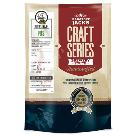 Mangrove Jack's Craft Series Brewery Pouch - Pilsner + Dry Hops