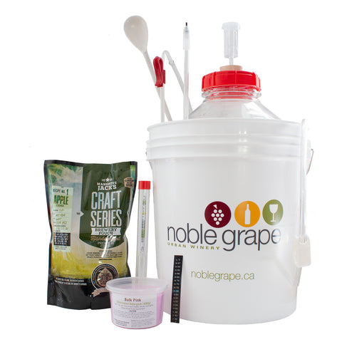 Beer Starter Kit with Mangrove Jack's Cider Kit - Noble Grape