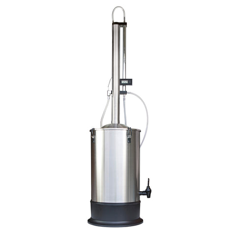 TURBO 500 (T-500) Water Distiller/Oil extractor with reflux column)