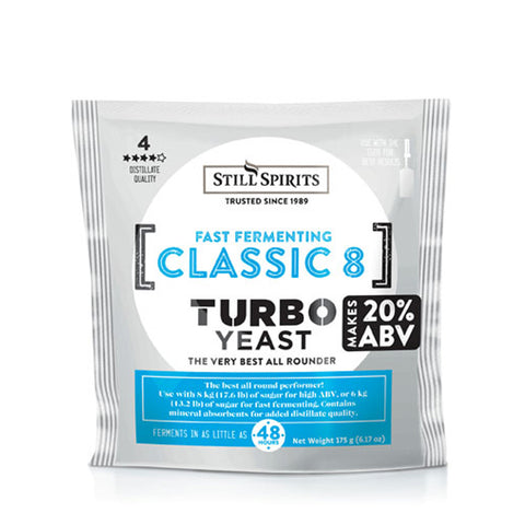 Turbo Yeast Classic 8 (Formally Classic Turbo)