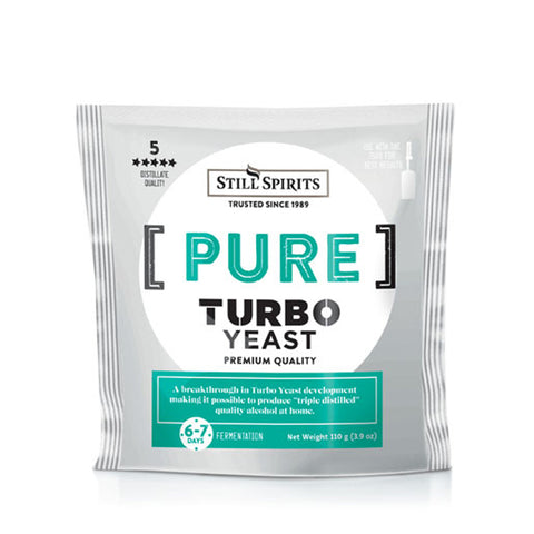 Turbo Yeast Pure (Formally Triple Distilled)
