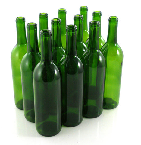 Bottles - Wine Bottles, per dozen (750ml) - Noble Grape