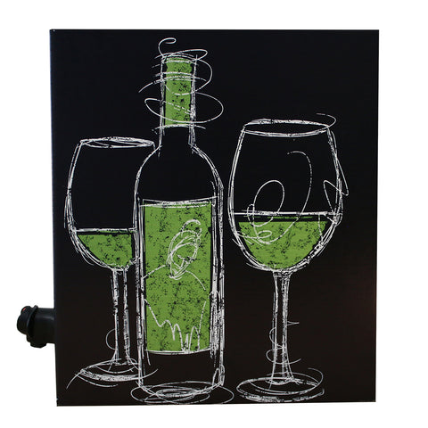 Cardboard Wine Dispenser Box - Noble Grape