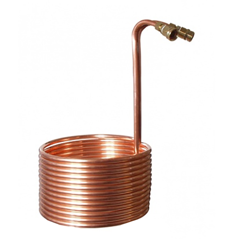 Copper Immersion Wort Chiller (25')