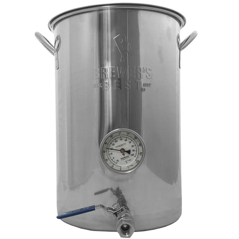 Kettle - Brewers Best, 8 Gal Welded (2 Ports)