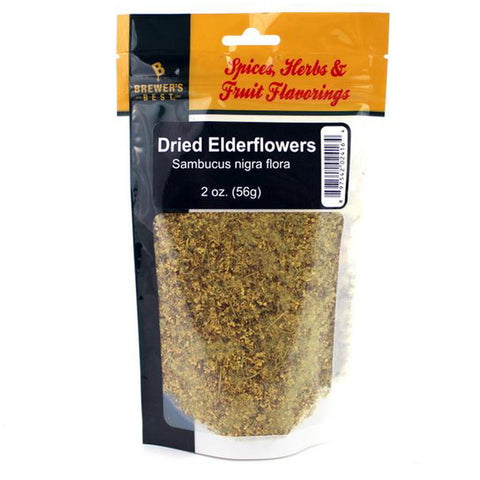 Dried Elderflowers 2 oz. (56g)