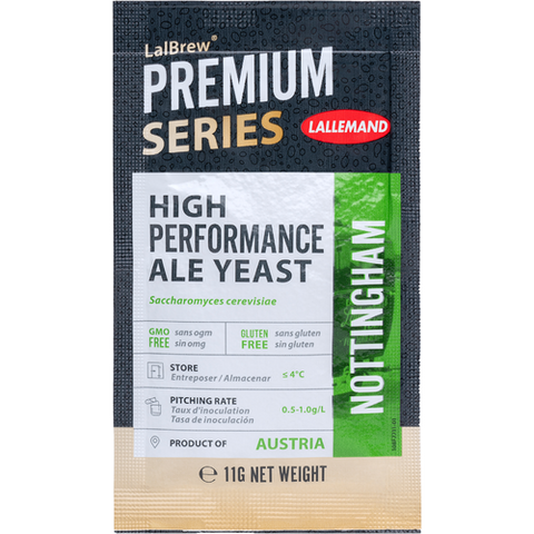 Lalbrew Nottingham Ale Yeast (11g) (Formerly Danstar)