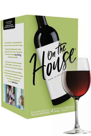 - On The House California Red Wine Kit