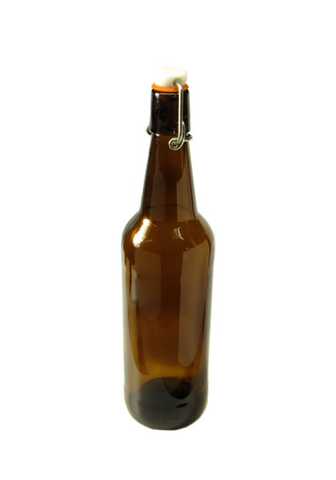 Bottles - Flip Top Brown, per doz (750 mL) - Noble Grape