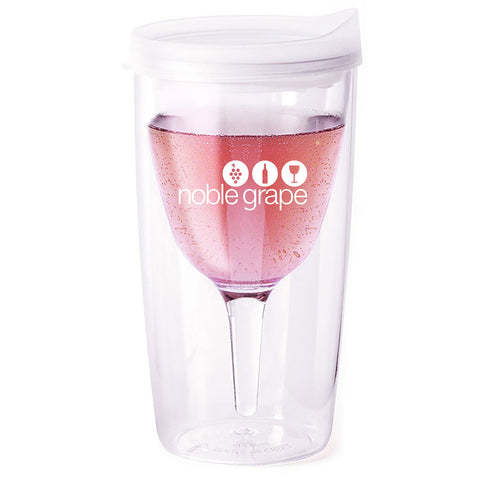 Wine Sippy Cup - Clear - Noble Grape