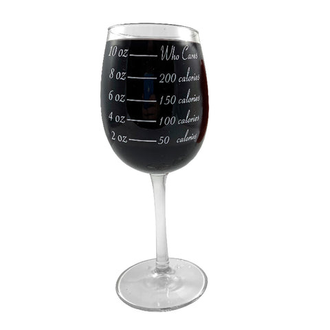 Wine Glass - Calorie Counting