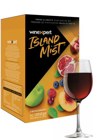 Island Mist Raspberry Peach Sangria Kit