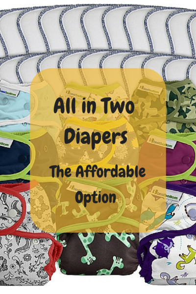 All in Two Cloth Diapers - the Affordable Option