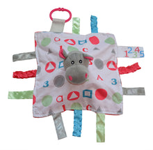 Baby Jack - Educational Lovey 10x10, Baby Jack & Co, Green Baby Planet