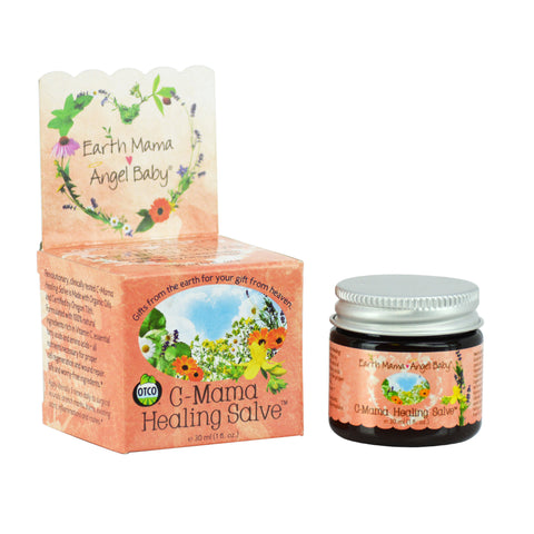 Earth Mama Angel Baby - C-Mama Healing Salve, Earth Mama Angel Baby, Green Baby Planet