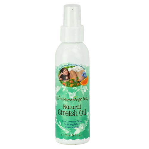 Earth Mama Angel Baby - Natural Stretch Oil 4 fl. oz., Earth Mama Angel Baby, Green Baby Planet